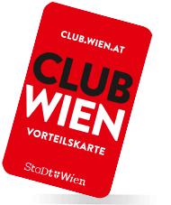 Club Wien Clubkarte, Vorteilsrabatte sichern